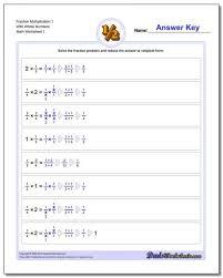 Fraction Chart Sheet Multiplying Fractions Worksheets 5th Grade And Fraction