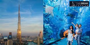 At The Top Burj Khalifa Dubai Aquarium Amazing Mer Khalifa Salk