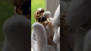 Freeman Design Golden Snitch Golden Snitch Inspired Secret Engagement Ring Box Necklace