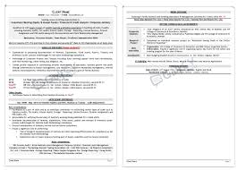 Entry Level Professionals Resume