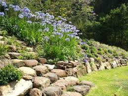 rock wall garden rock wall and garden rock wall garden beds . rock wall  garden ...