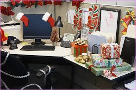 christmas decorating ideas for office. Interesting Ideas Christmas Decorating Themes Office Cubicle Decoration For Inside Holiday  Ideas Remodel 12 To