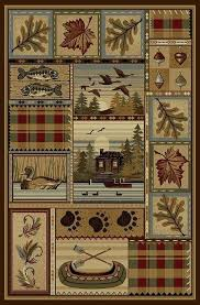 rustic cabin rugs all your rustic area rugs cabin accent rugs and bear rugs at rustic cabin rugs
