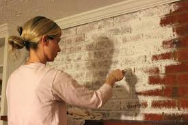 whitewash brick tutorial how to whitewash a brick fireplace whitewash brick house pictures