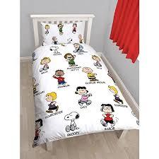 Buy Peanuts Childrens/Kids Snoopy Reversible Twin Quilt Cover ... & Buy Peanuts Childrens/Kids Snoopy Reversible Twin Quilt Cover Bedding Set  (Twin) (White) in Cheap Price on Alibaba.com Adamdwight.com