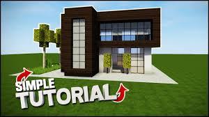 simple modern house. Minecraft House Tutorial: Simple Modern - Best Tutorial YouTube