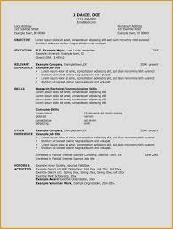 Job Resume Layout Examples Resumes Very Good Resume Social Work ...
