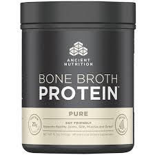 <b>Bone Broth Protein</b> - <b>PURE</b> (1.25 Pound Powder) by Ancient ...