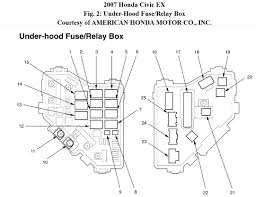 2008 honda civic relay diagram