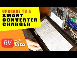 how to upgrade to a smart rv converter charger premium