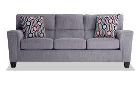Calvin Concrete Gray Sofa   Bob's Discount Furniture