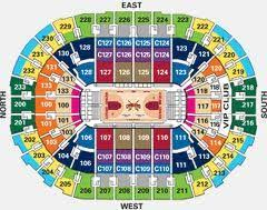 Cavs Virtual Seating Chart Seating Chart For The Q Cleveland Quicken Loans Arena