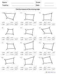 Free Geometry Worksheets High School - Checks Worksheet