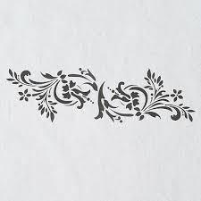 wall stencils border stencil pattern