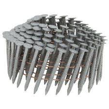 framing nails. gypsum or wood sheathing to steel coil nail framing nails