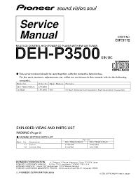 pioneer deh 2700 wiring diagram wirdig install pioneer deh 6400bt 1300mp wiring pioneer deh wiring diagram