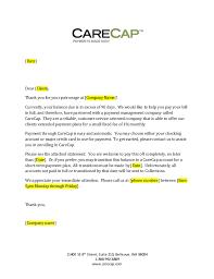 Past Due Bill Letter Carecap 90 Day Past Due Letter Generic