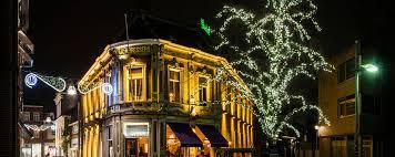 festive lighting. commercial festive lighting with kms deco in belgium