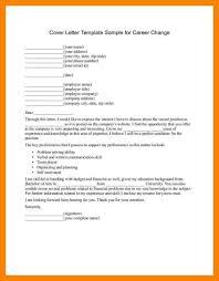 12 Career Change Resume Letter Adress