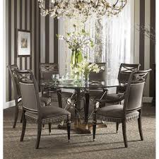 fine furniture design belvedere 60 inch round glass top dining table