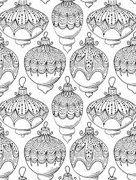 Small Picture Printable Large Christmas Coloring Pages