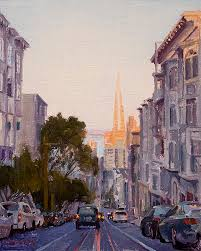 transamerica building by paul ferney i want san francisco art in our home