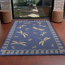 terrace dragonfly marine outdoor rug