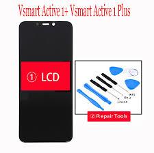 Mới 6.18 ''Cho Vsmart Hoạt Động 1 + PQ6002 Màn Hình LCD + Bảng Điều Khiển  Cảm Ứng Bộ Số Hóa Thông Minh Active1 Màn Hình Hiển Thị LCD cho Hoạt Động