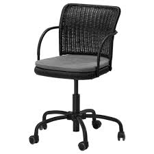 gregor swivel chair vittaryd white. IKEA - GREGOR, Swivel Chair, Black/Svanby Gray, , You Sit Comfortably Since The Chair Is Adjustable In Height.The Casters Are Rubber Coated To Run Smoothly Gregor Vittaryd White