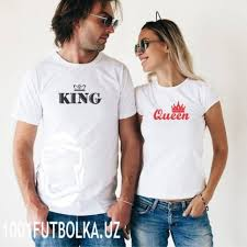 Футболки <b>парные</b> «<b>King &</b> Queen» белые - Крутые футболки