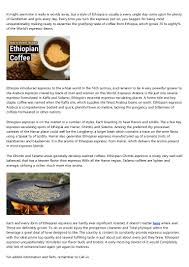 That's right, they are the real deal. Will Best Ethiopian Coffee Brands Ever Rule The World