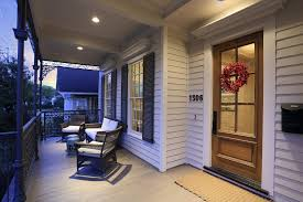 recessed porch lighting string lights
