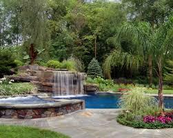 Backyard Pool Waterfalls Houzz