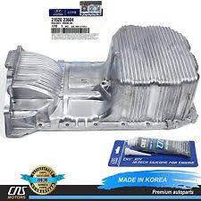 hyundai car and truck oil pans genuine engine oil pan fits 02 11 hyundai kia 2 0l oem 21520 23604