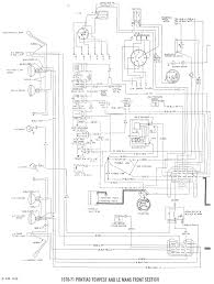 Pontiac tempest and lemans 1970 1971 center section schematic fair description dodge truck trailer wiring diagram with and 1967 firebird