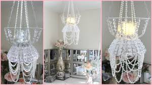dollar tree chandelier room decor diy