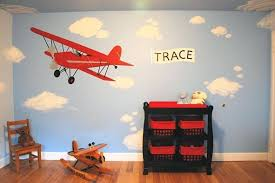 Airplane Themed Bedroom Ideas With Room Decor Vintage Baby