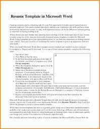 Resume Microsoft Word Teller Resume Sample