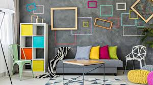 wall decorations living room white