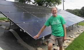 One Nebraska Man Goes Off the Grid with Solar Power! | J Tech Solar