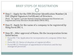 How To Register A Company How To Register A Private Limited Company In India