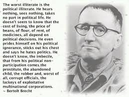 A Perfect Quote To Share With Friends Who Think Politics Is ... via Relatably.com