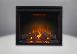 comes with the ascent 33 electric fireplace