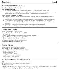 good software engineer resume sample and military history and