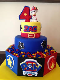 10 Perfect Paw Patrol Birthday Cakes Pretty My Party Party Ideas