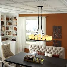 recessed lighting dining room. Ceiling Light For Dining Room Kitchen With Mini Pendants And Recessed Lighting