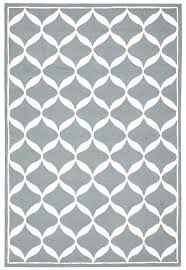 turquoise rug white area gy zebra black and 5x7 whit