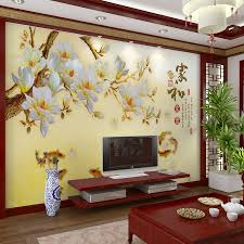 best wallpaper designs for living room. customized large mural 3d wallpaper wall paper bedroom living room tv backdrop of modern chinese poetry style golden yellow plum goldfish best designs for s