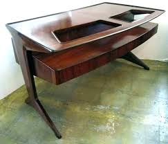 wood desk with glass top glass top office desk wood desk with glass top office desk