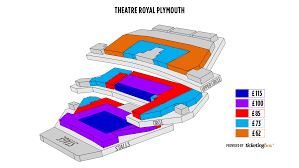 Plymouth Theatre Royal Plymouth Seating Chart English